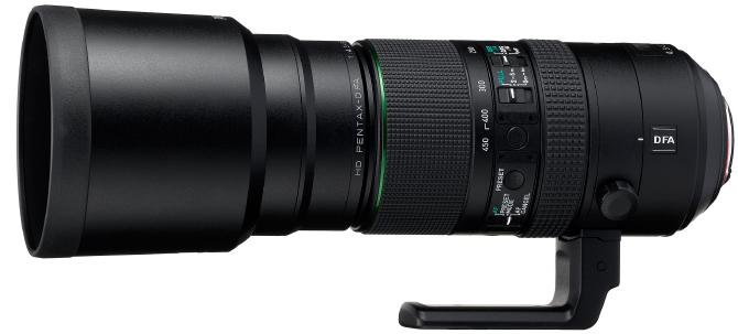Pentax D FA 150-450mm