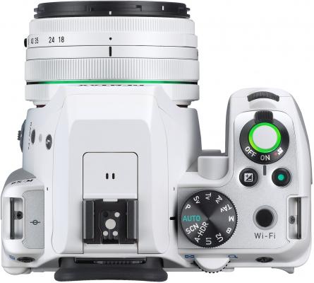 Pentax K-S2 White (Top View)