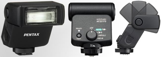 Pentax AF201FG Flash Announced