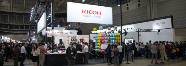 CP+ 2015 Ricoh Imaging Booth Photo Tour