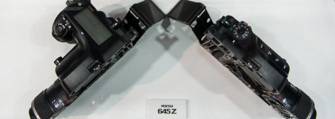 Pentax 645Z Cut in Half