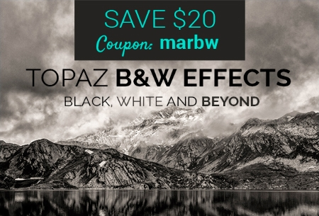 Topaz B&W Effects - Save $20