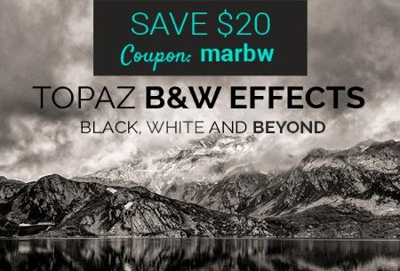 Topaz B&W Effects - Save $20