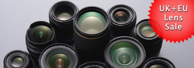 UK and EU Pentax Lens Sale - Up to 30% Off