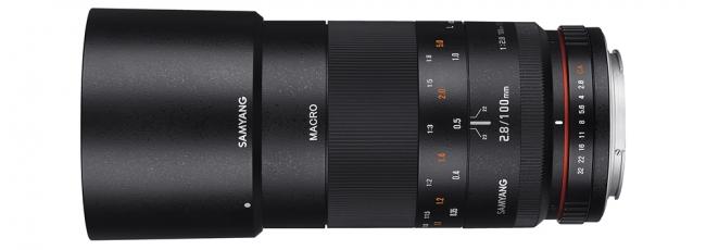 New Samyang 100mm F2.8 Macro for Pentax