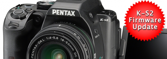 Pentax K-S2 Firmware v1.01 Released