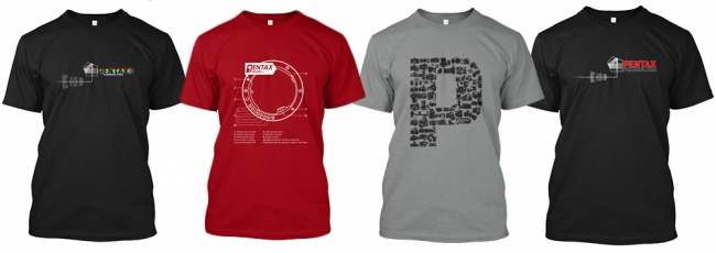 2015 Pentax Forums T-Shirt Sale (New Designs)