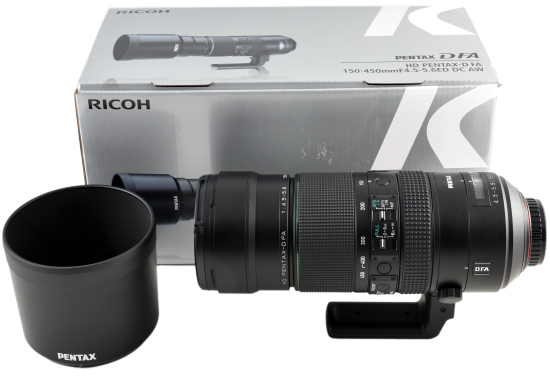 D FA 150-450mm F4.5-5.6 Review on APS-C