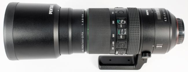 HD Pentax-D FA 150-450mm F4.5-5.6 (APS-C)