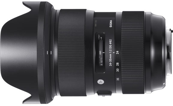 Sigma Announces 24-35mm F2 DG HSM Art