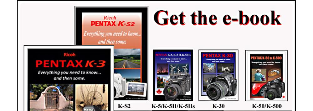 Pentax eBook Giveaway