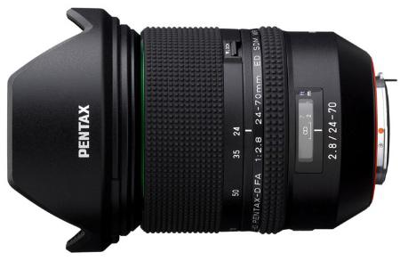 HD Pentax-D FA 24-70mm F2.8 ED SDM WR Announced