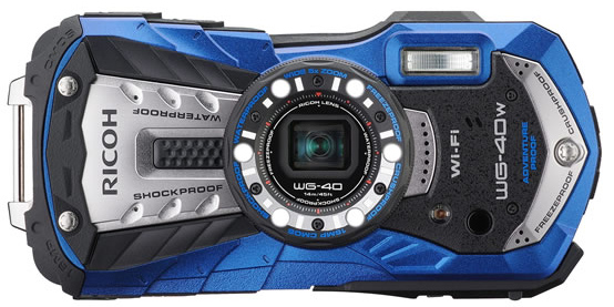 Ricoh WG-40 and WG-40w Announced