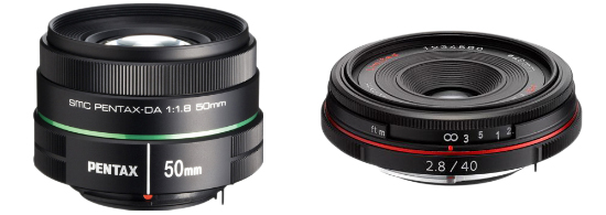 DA 40mm and 50mm Lens Deals