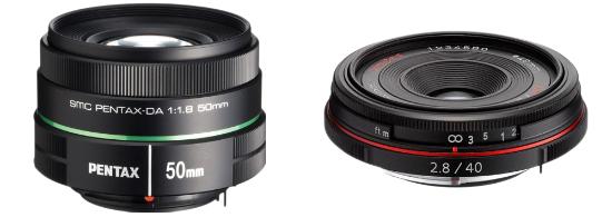DA 40mm and 50mm Lens Deals