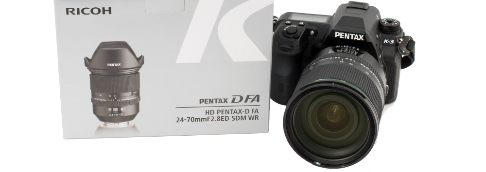 Pentax-D FA 24-70mm First Impressions Review