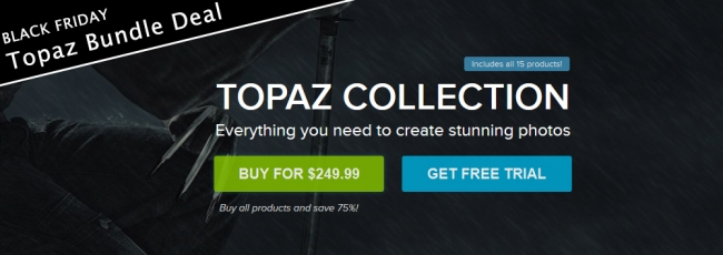 Topaz Collection Black Friday 2015 Deal