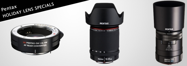 HD DA 16-85mm and 1.4x Teleconverter On Sale