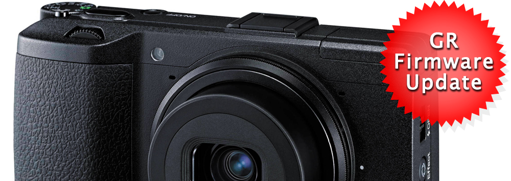 Ricoh GR Firmware v5.01 Released