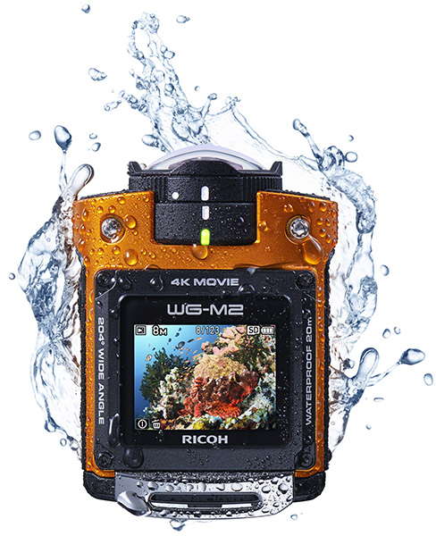 Ricoh WG-M2 Officially Announced