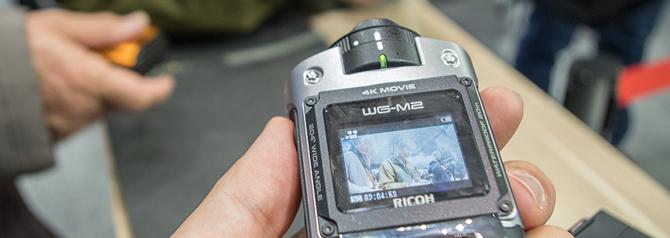 Ricoh Theta S and WG-M2 Hands-On Demo