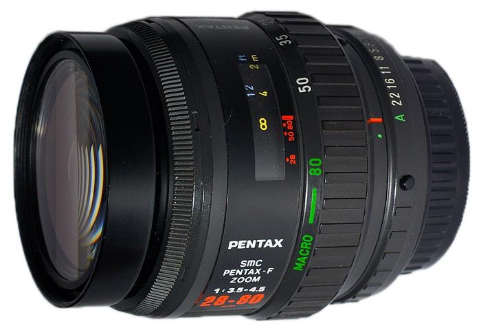 Pentax F 28-80mm