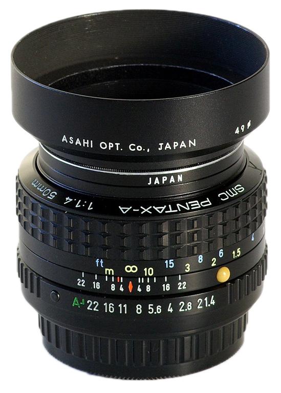 A 50mm F1.4