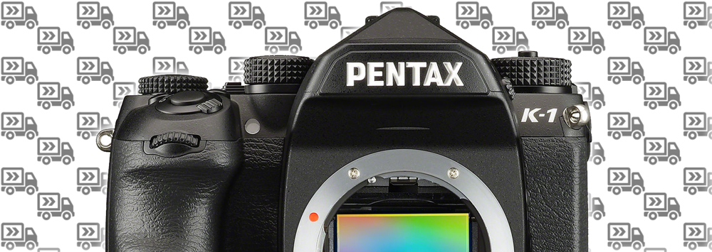 Pentax K-1 Shipping in the US