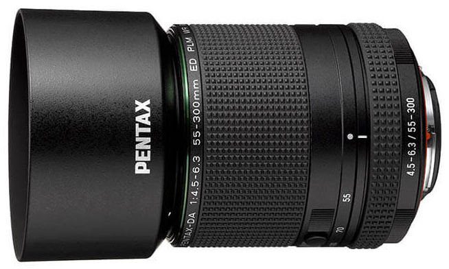 HD Pentax-DA 55-300mm F4.5-6.3 ED PLM WR RE Announced