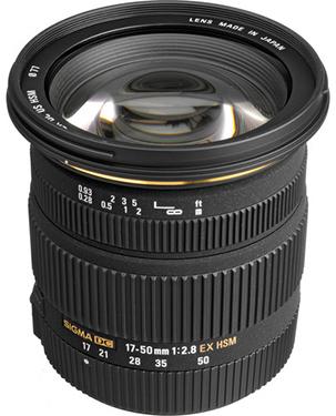 Sigma 17-50mm F2.8: $399