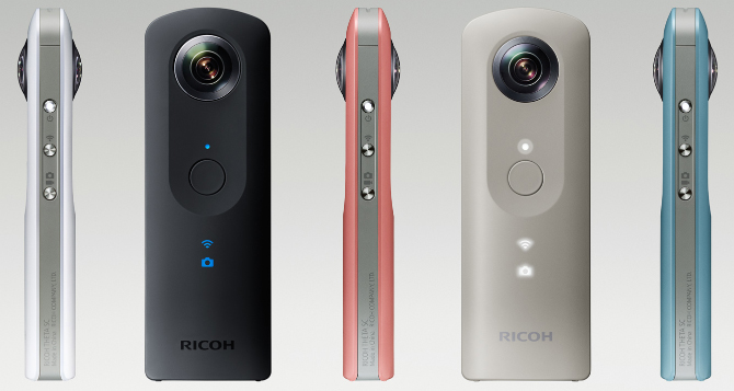 Ricoh Theta SC Officially Announced