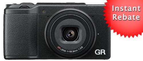 Ricoh GR II - $100 US Rebate