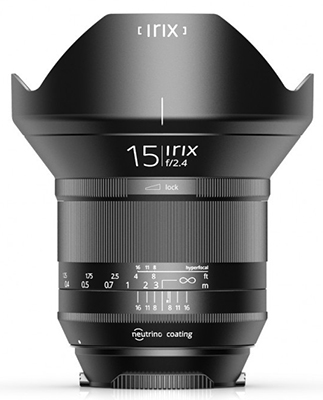 Irix 15mm F2.4 Now Available for Pentax