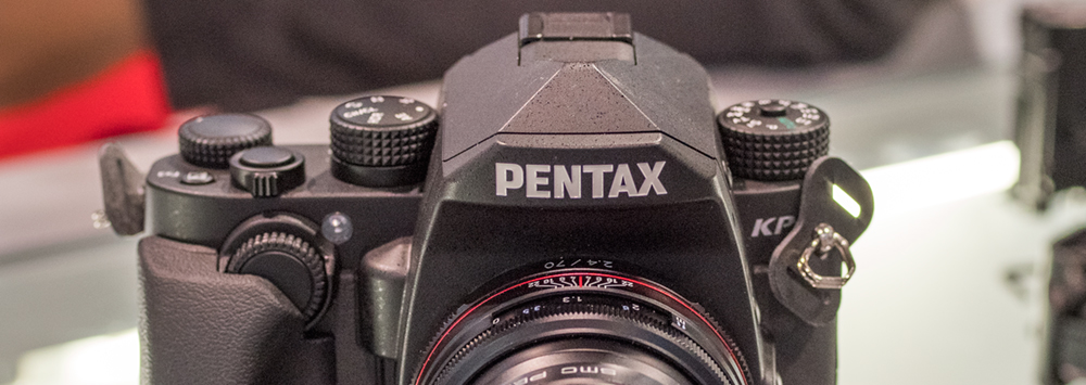 Hands-on with the Pentax KP