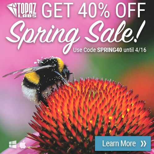 Topaz Spring Sale: 40% Off Everything