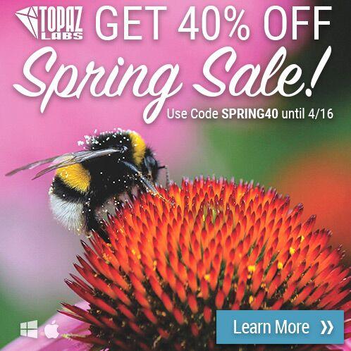 Topaz Spring Sale: 40% Off Everything
