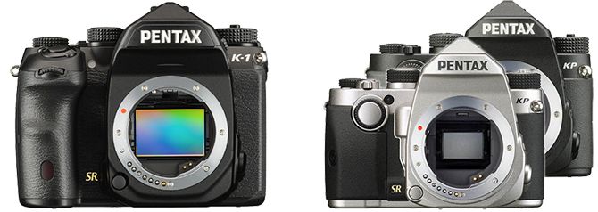 Pentax KP and K-1 10% Off Sale