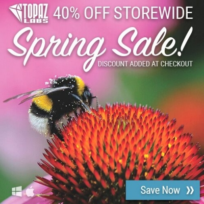 40% Off Storewide at Topaz: Spring Sale!