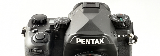 Save $100 on the Pentax K-1 II Body