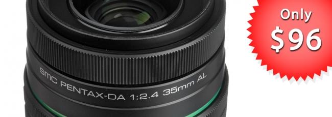 DA 35mm F2.4 - Only $96.95!