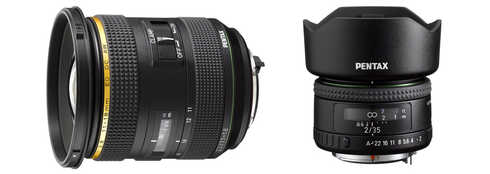 HD Pentax- DA* 11-18mm F2.8 and FA 35mm F2 Officially Announced