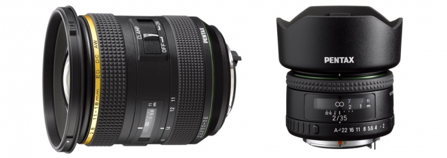 DA* 11-18mm F2.8 and HD FA 35mm F2 Now Shipping