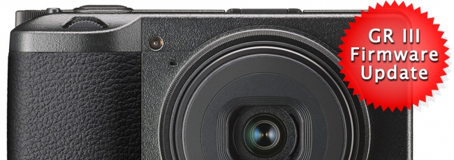 Ricoh GR III Firmware v1.41 Released