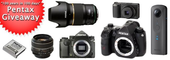Pentax Forums December Giveaway Starts Today