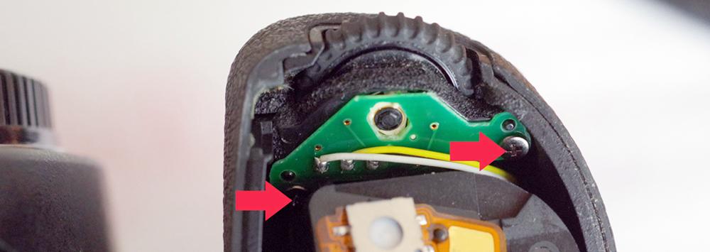 Tutorial: Repairing Pentax K-3, K-5, or K-7 e-dials