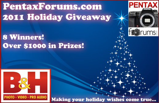 Announcing the 2011 Holiday Giveaway