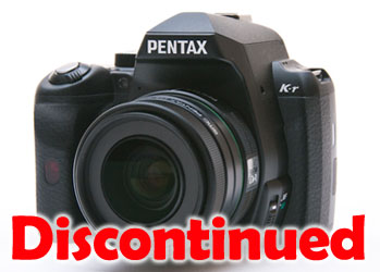 Pentax K-r Discontinued