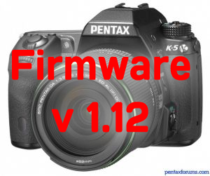 Pentax K-5 Firmware 1.12 Now Available