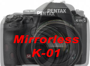 Pentax K-01 Mirrorless K-mount Camera