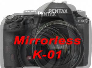 Pentax K-01 Mirrorless K-mount Camera